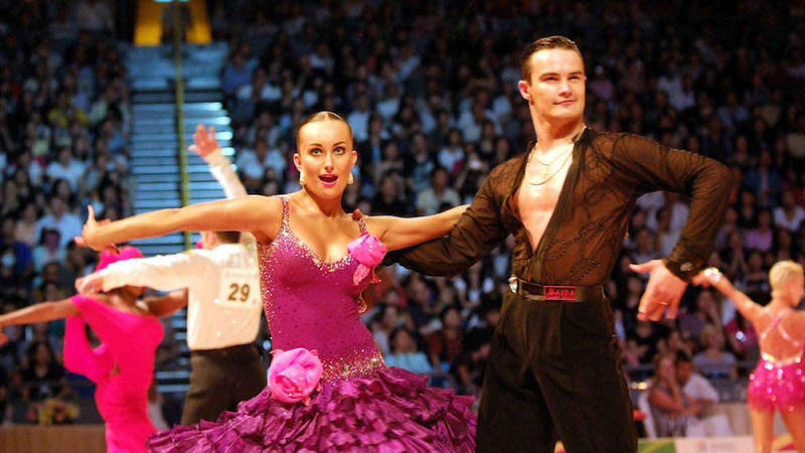Una pareja baila en los World Games de Cali (Colombia) en 2013