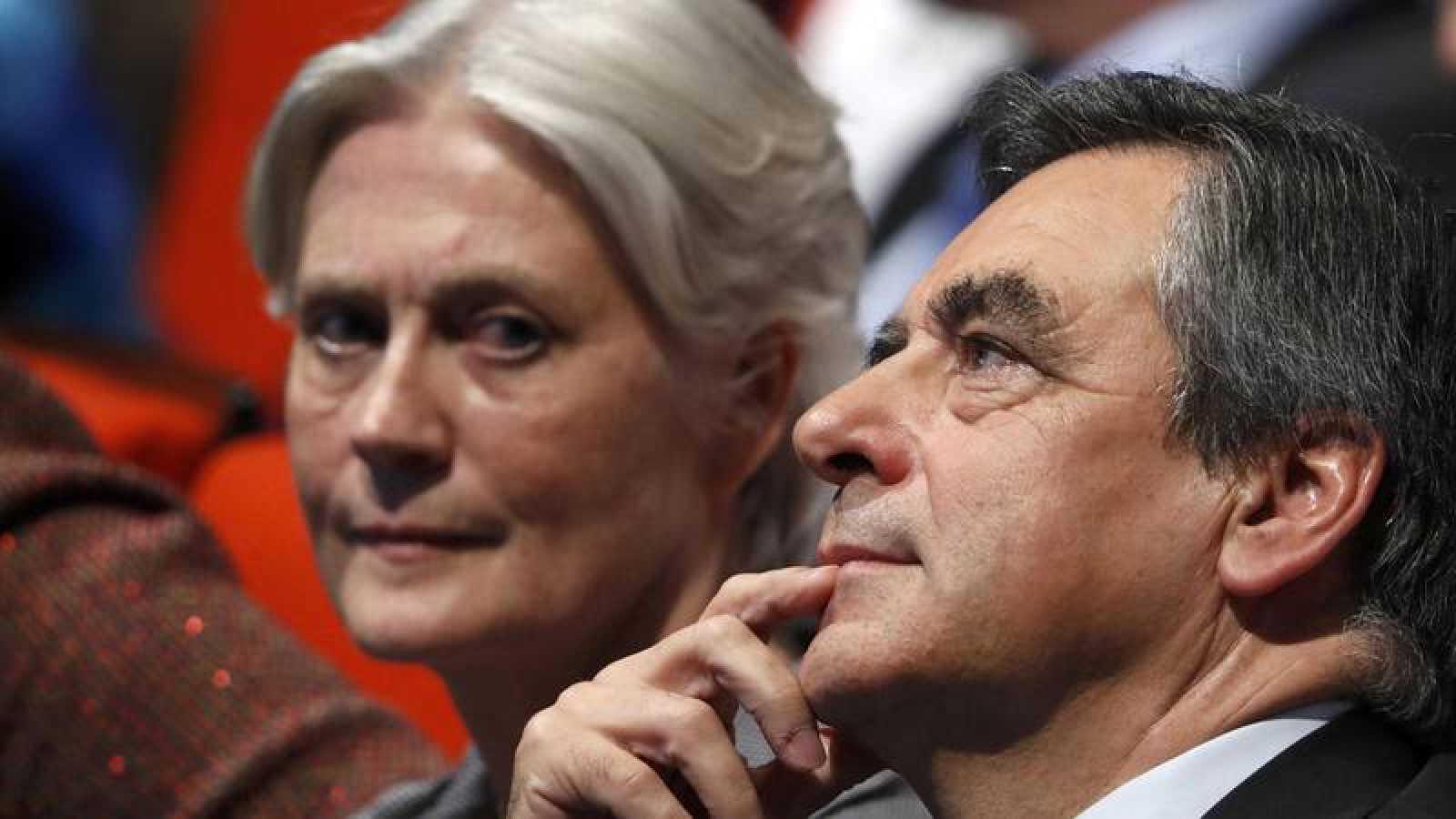 François Fillon y su esposa Penélope fotografiados en noviembre de 2016