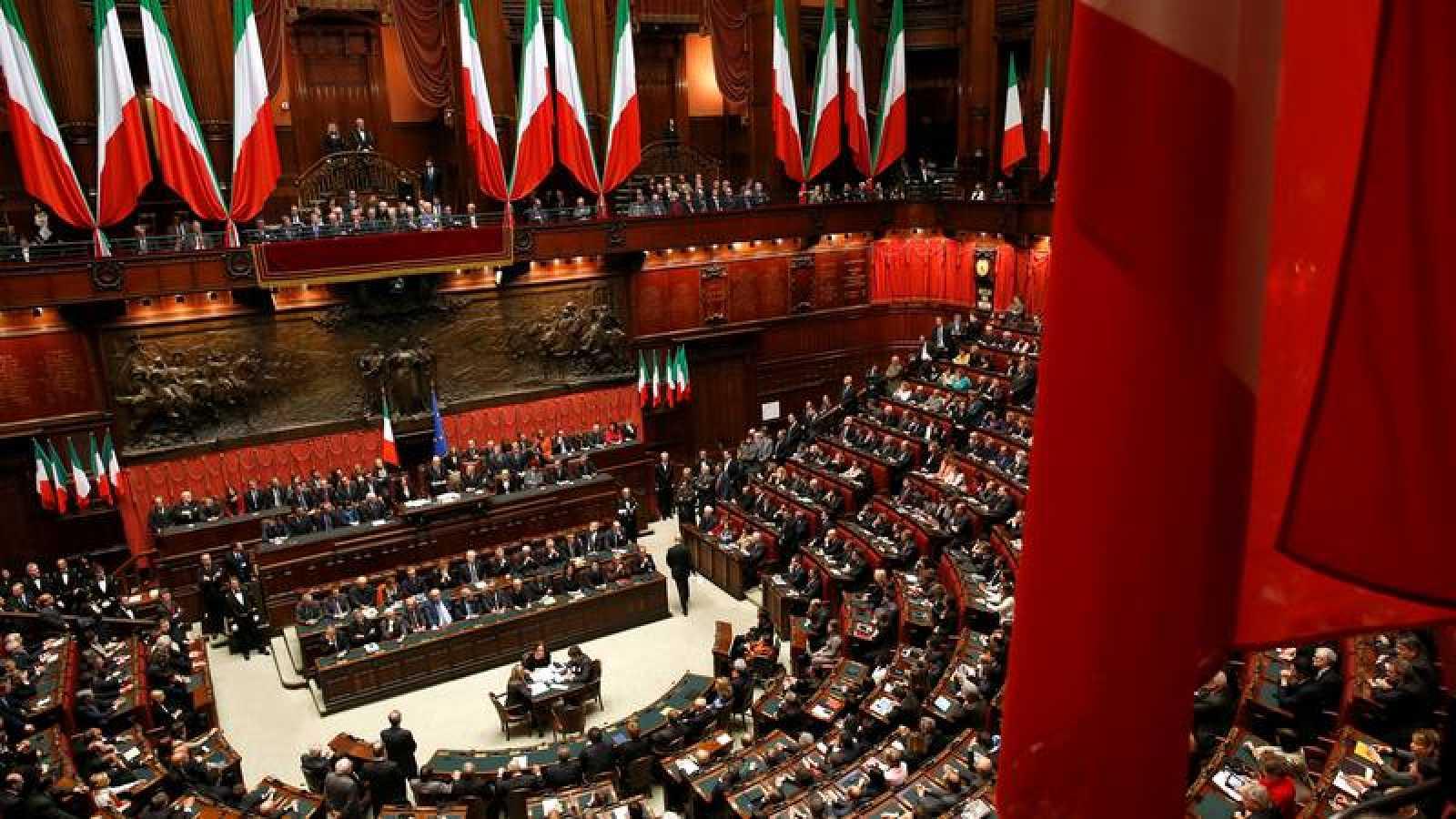 Una vista general del Parlamento italiano