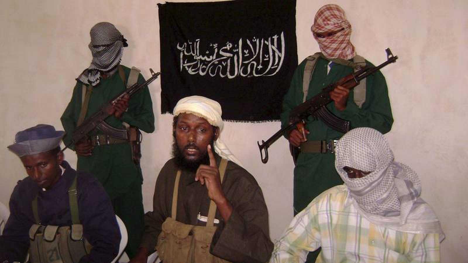 """El comandante de Al Shabab, Sheij Mujtar Robow, conocido como """"Abu Mansoor"""", en una foto de archivo"""
