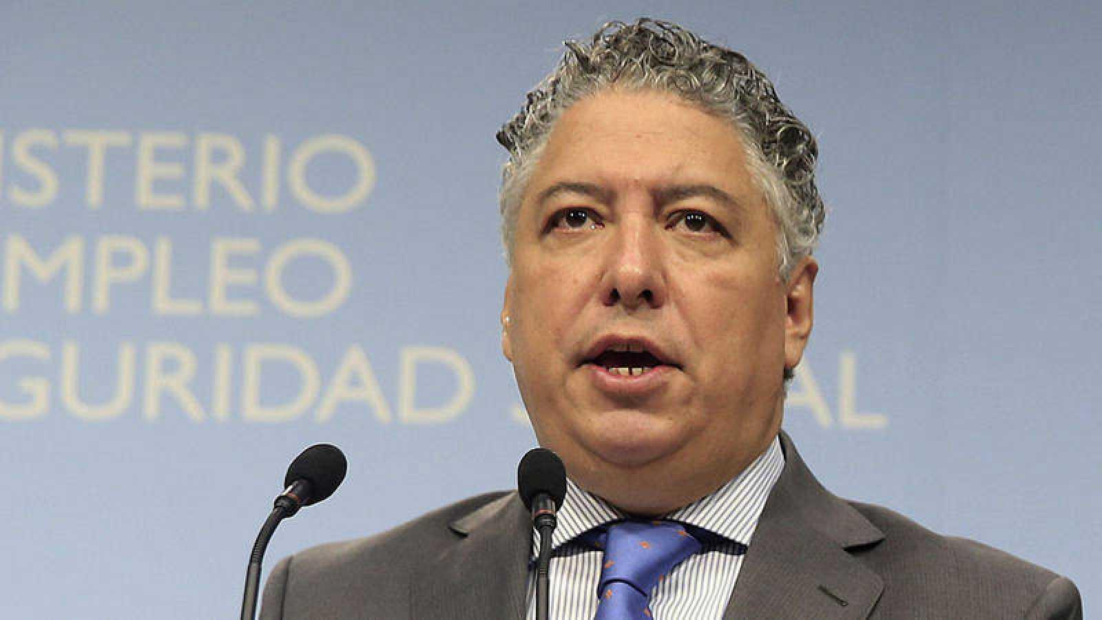 El secretario de Estado de Seguridad Social, Tomás Burgos, en una imagen de archivo.