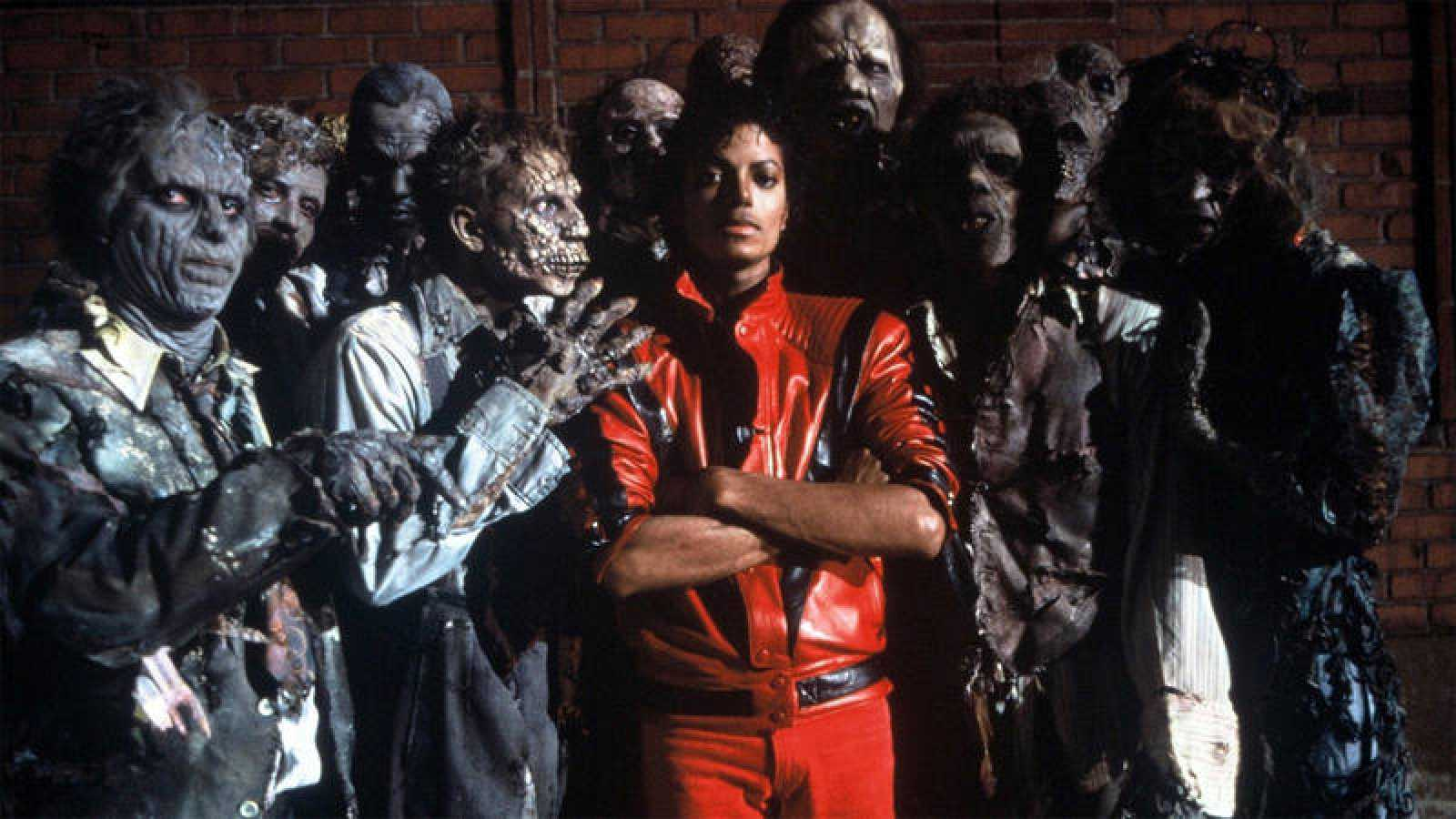Fotograma del videoclip 'Thriller', de Michael Jackson.
