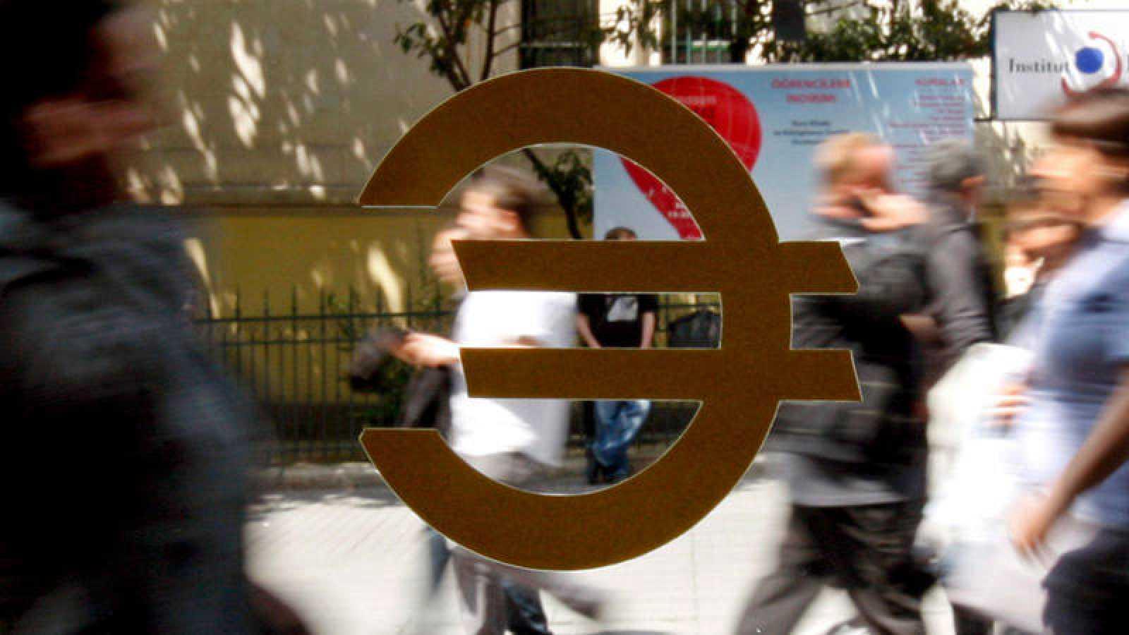 El euro, símbolo de la Unión Europea