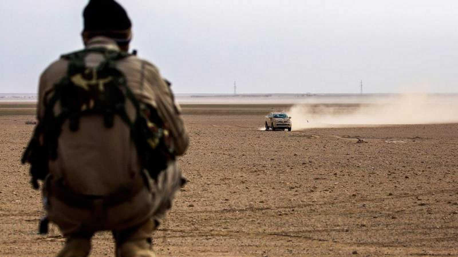 Imagen de archivo del conflicto de Siria