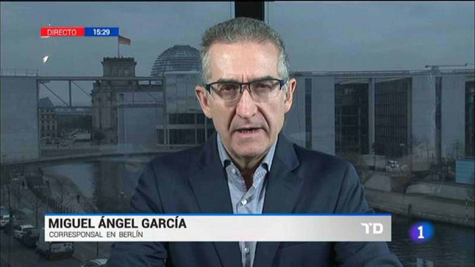 Miguel Ángel García Rodríguez, corresponsal de RNE en Berlín