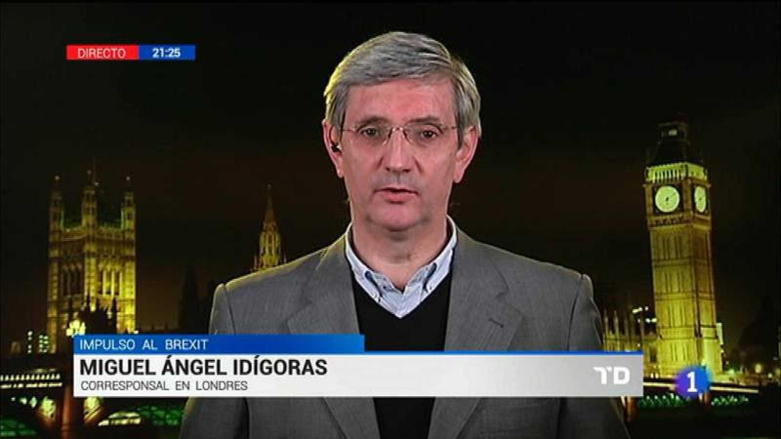 Miguel Ángel Idígoras Urrezola, corresponsal de RNE en Londres