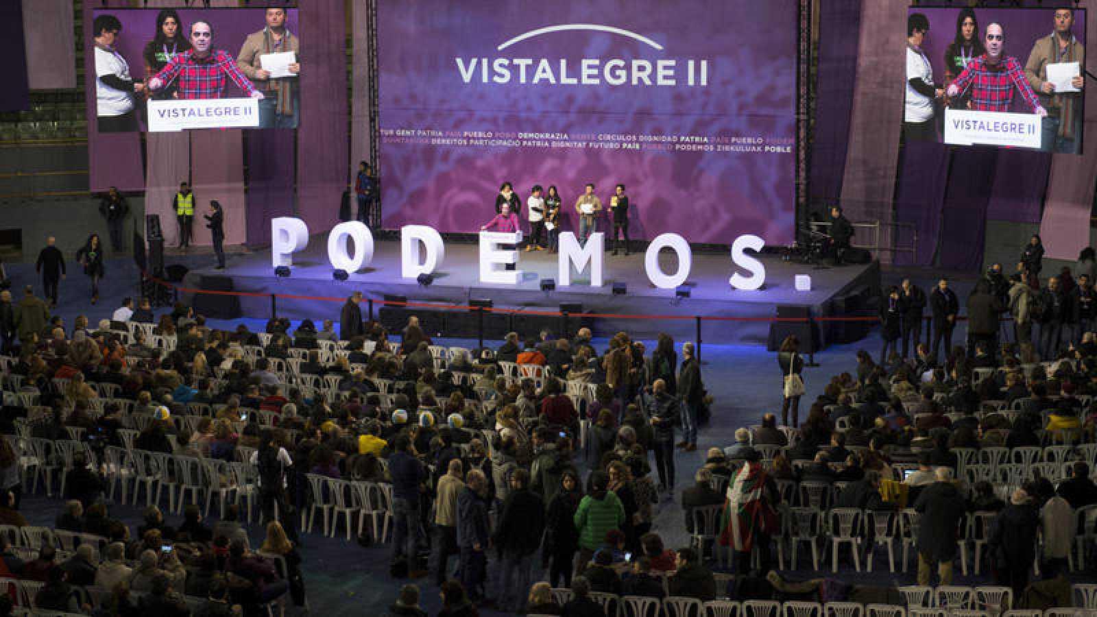 Vista general de la Asamblea Ciudadana Estatal de Vistalegre II.