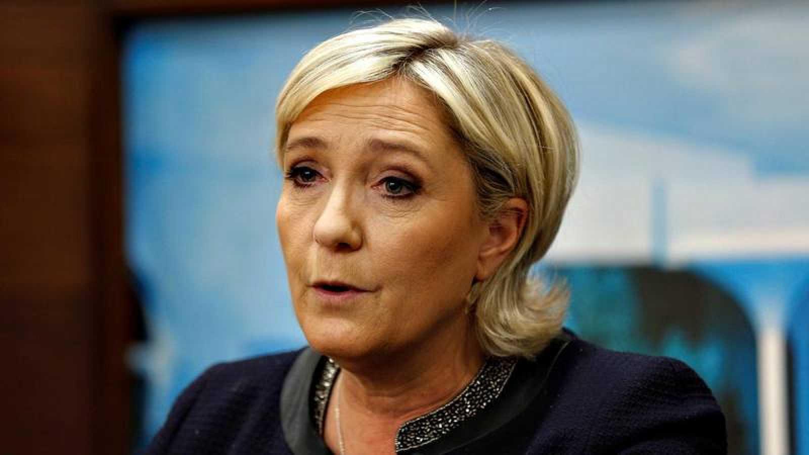 La líder del Frente Nacional y candidata a la presidencia de Francia, Marine le Pen