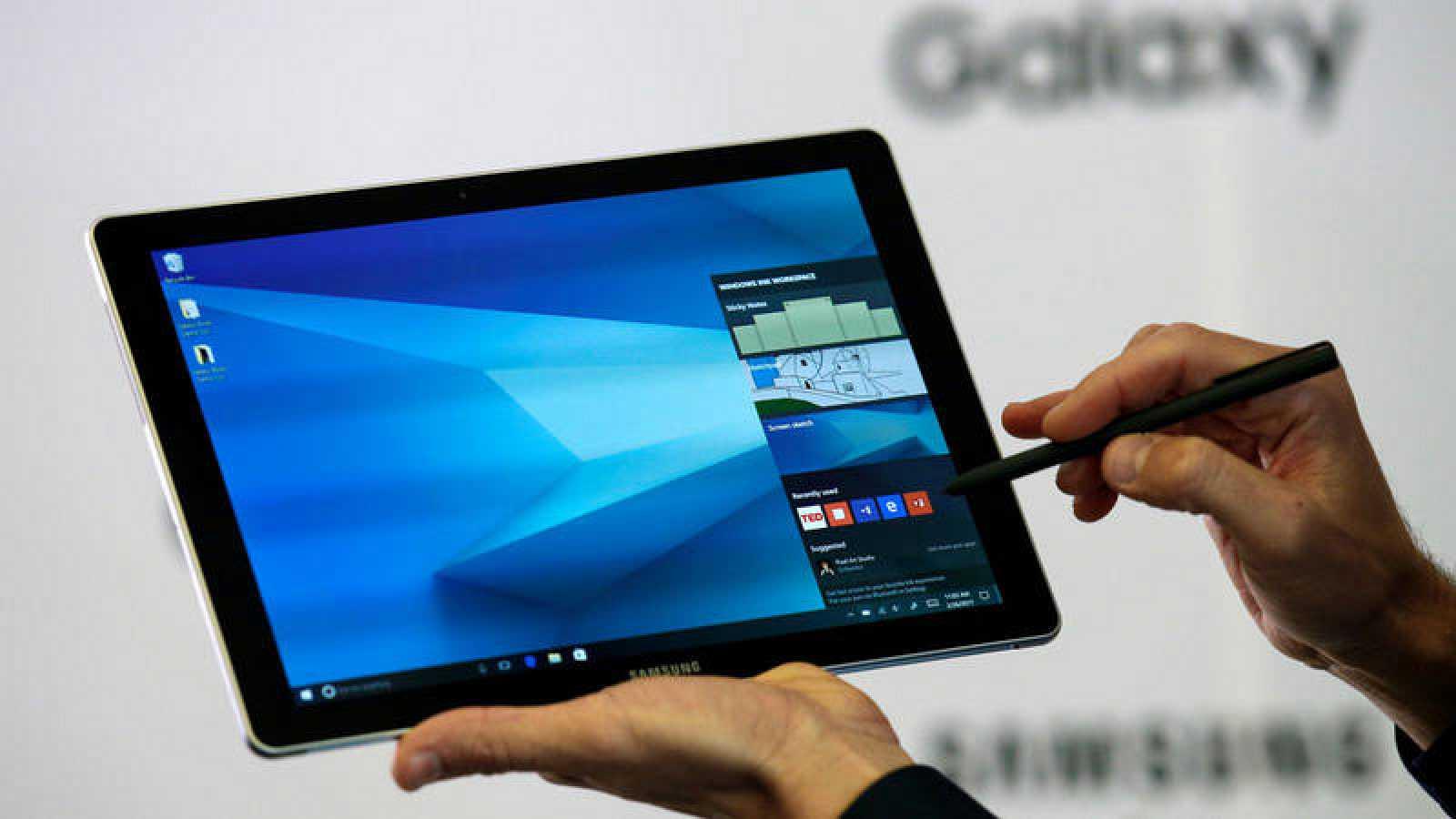 Samsung ha presentado sus nuevos modelos de tableta en el MWC de Barcelona.
