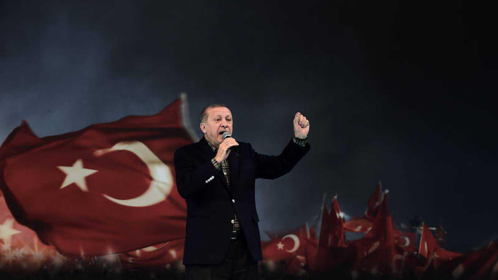 Erdogan Califica De Práctica Nazi La Prohibición En