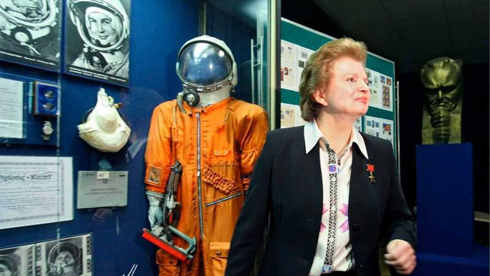 Imagen de archivo de la cosmonauta rusa Valentina Tereshkova.
