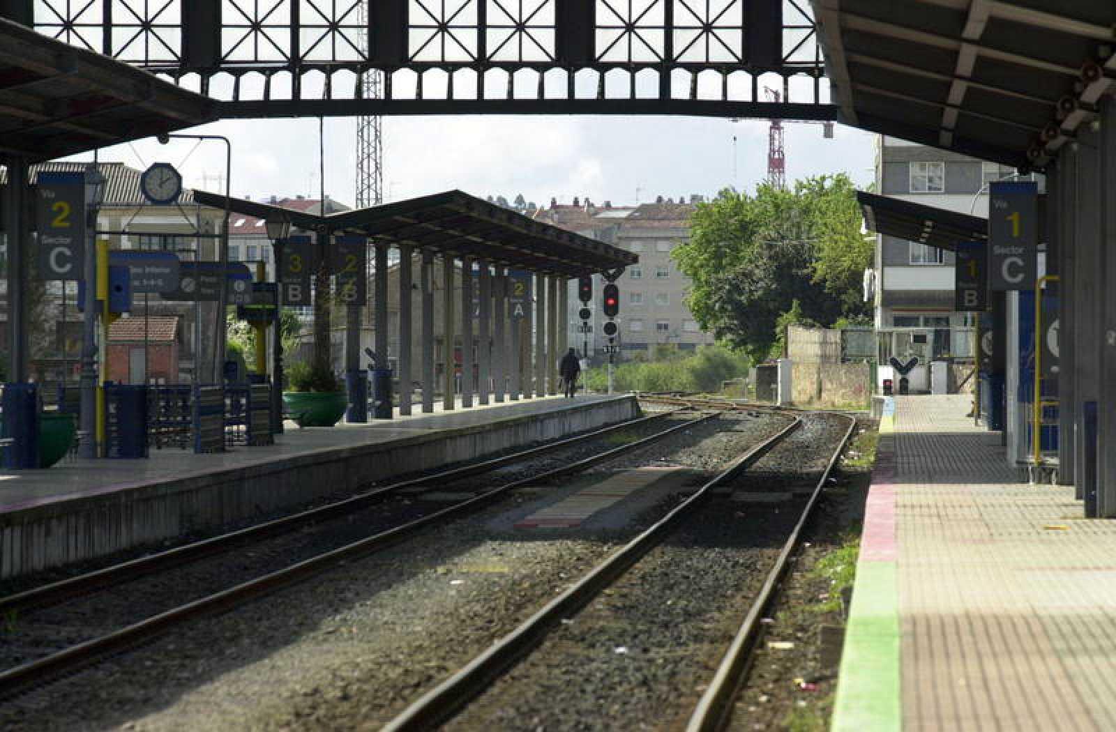 Estación de Renfe de Santiago de Compostela