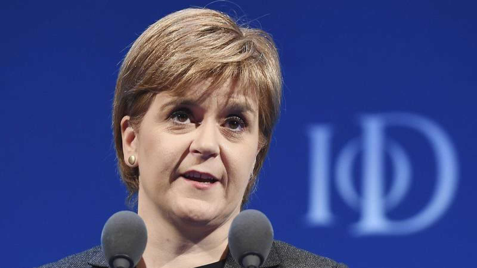 Foto de archivo de la ministra principal de Escocia, Nicola Sturgeon.
