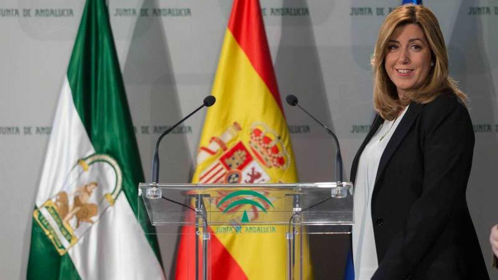 La presidenta de Andalucía y líder del PSOE regional, Susana Díaz.