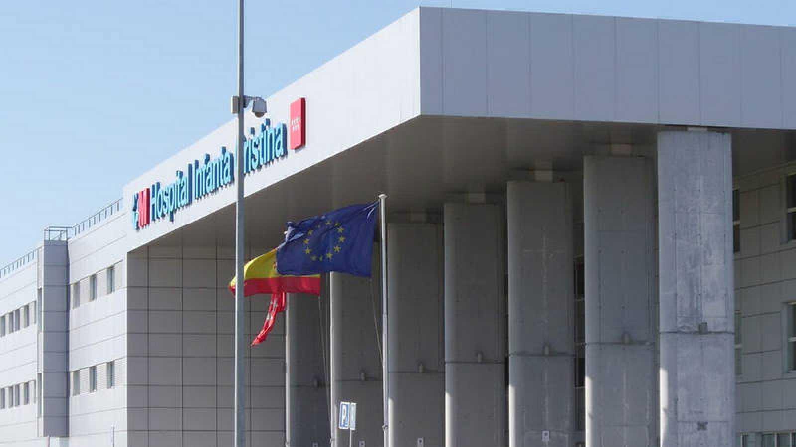 Imagen exterior del Hospital Infanta Cristina, en Parla (Madrid).