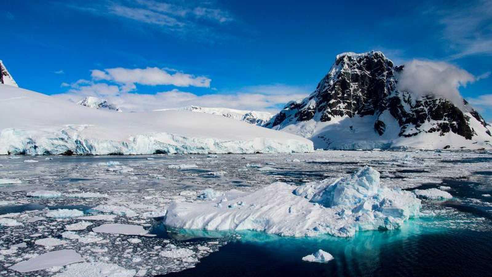 Paisaje del Ártico
