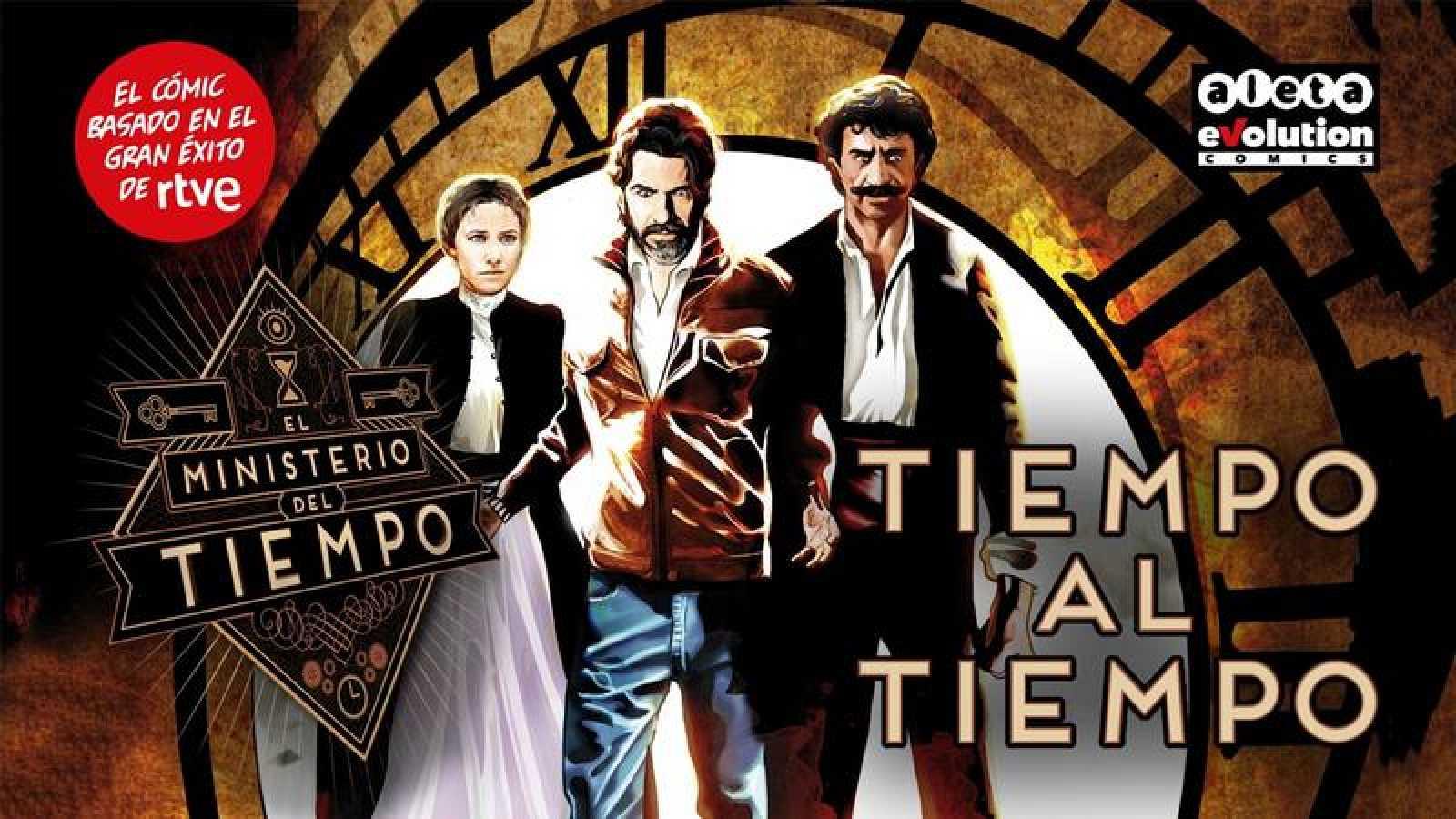 'Tiempo al tiempo', el cómic oficial de 'El Ministerio del Tiempo'