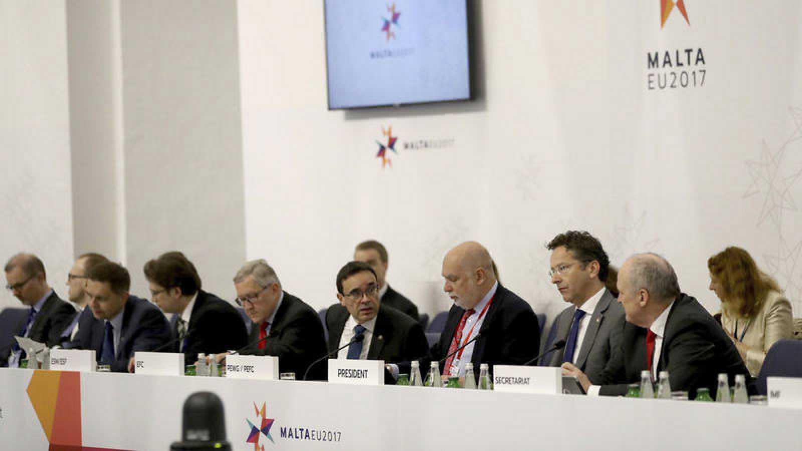 Reunión informal de los ministros de Economía y Finanzas de la UE en La Valeta, en Malta