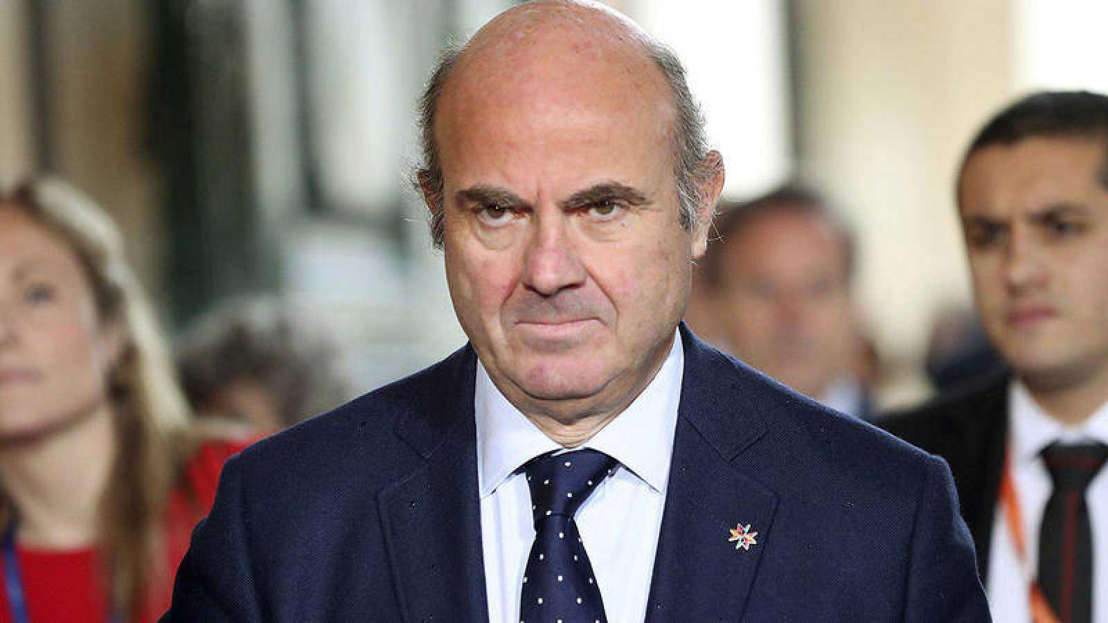 El ministro de Finanzas español, Luis de Guindos