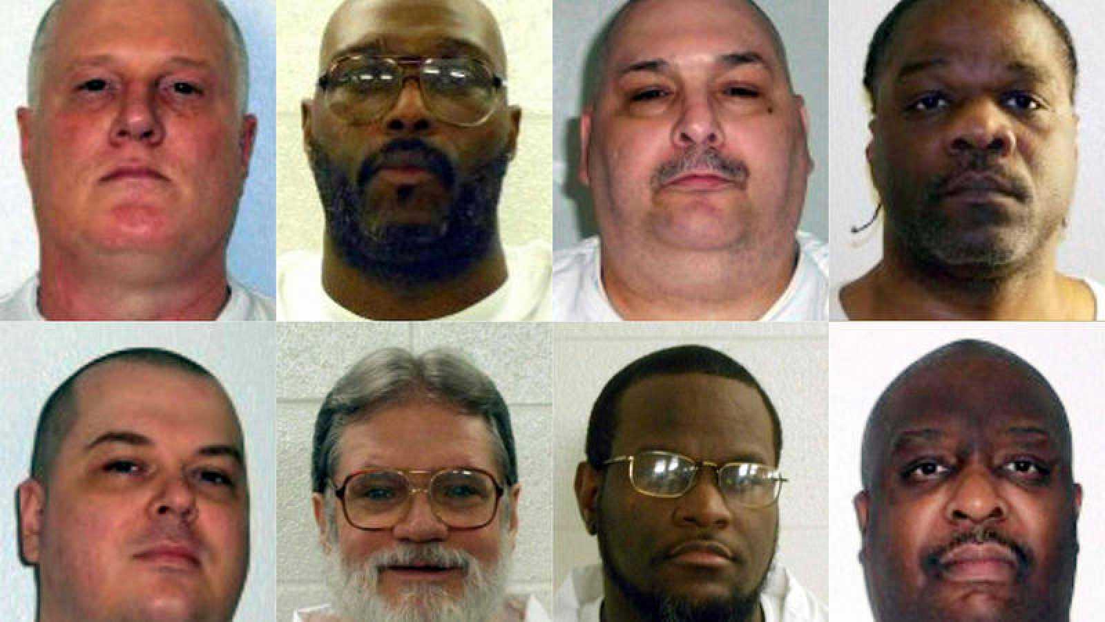 La Justicia estadounidense frena la ejecución en cadena de ocho ...