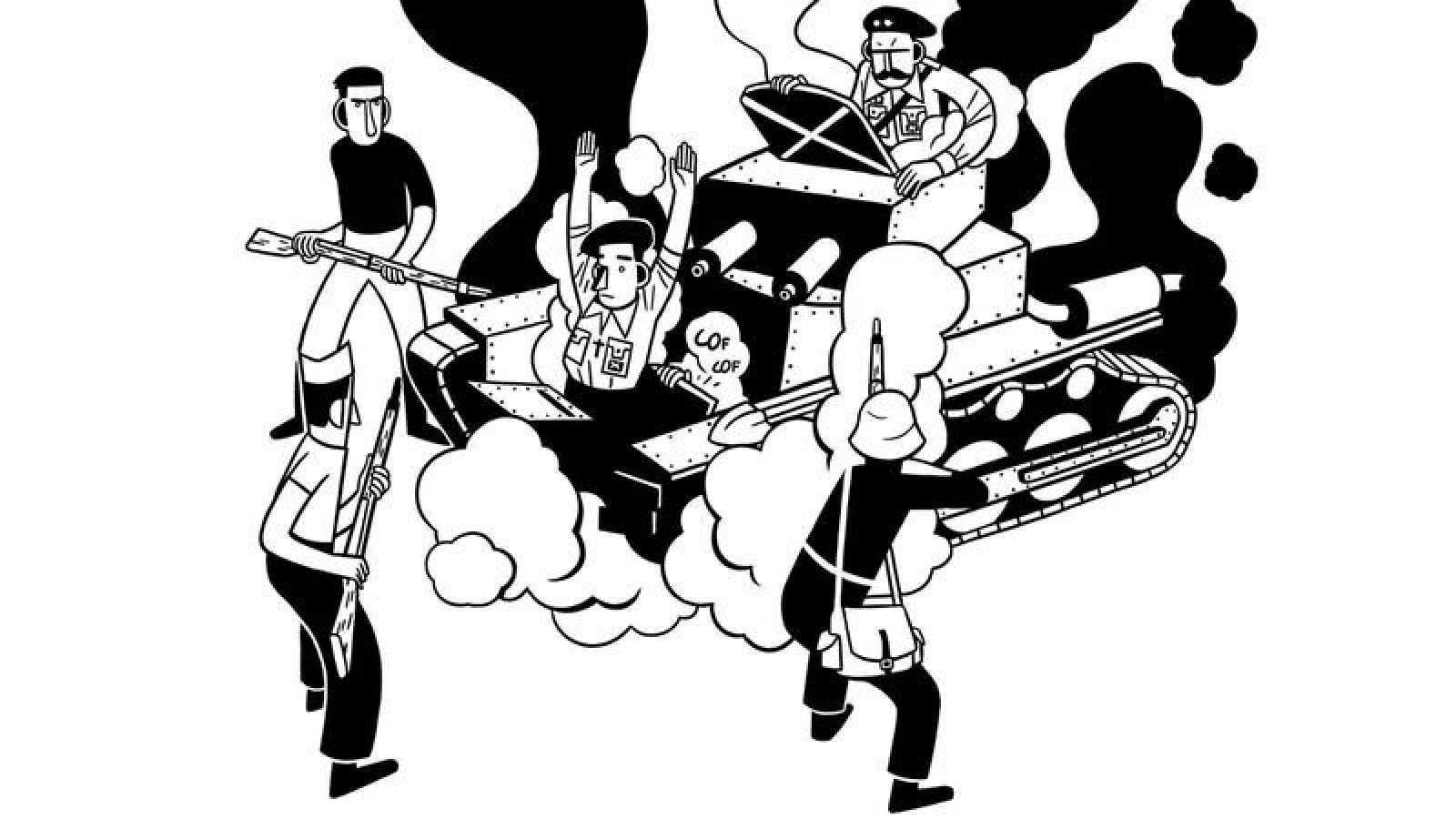 Dorable Página Para Colorear De Guerra Civil Componente - Dibujos ...