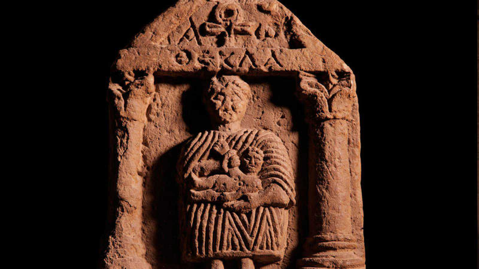 Piezas como esta de la Virgen con el Niño atestiguan la existencia de cristianos en el antiguo Egipto