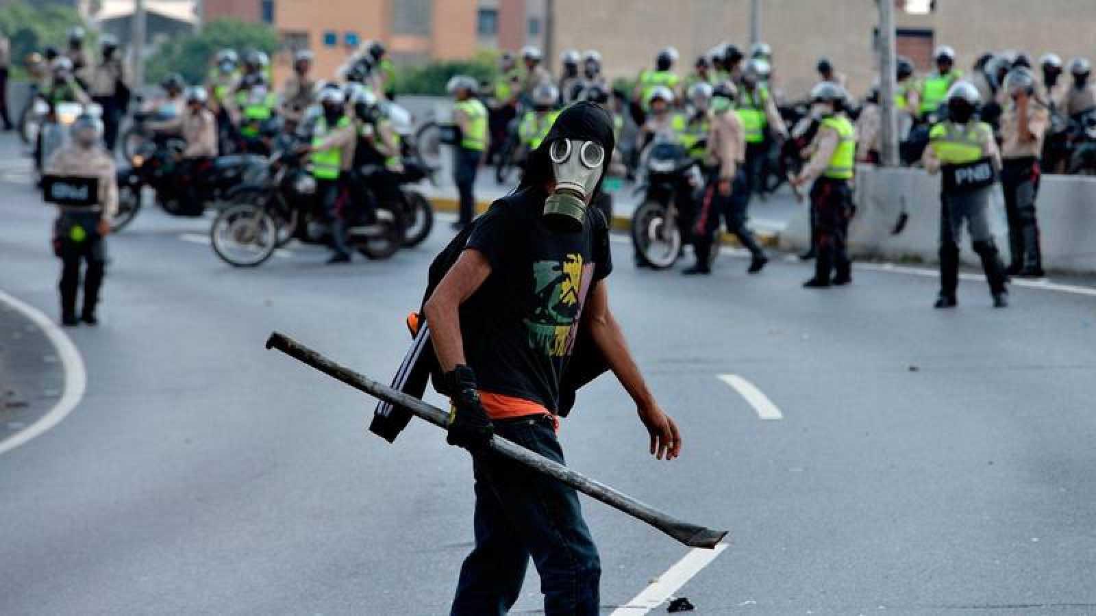 Venezuela vive desde hace semanas una ola de manifestaciones en las calles