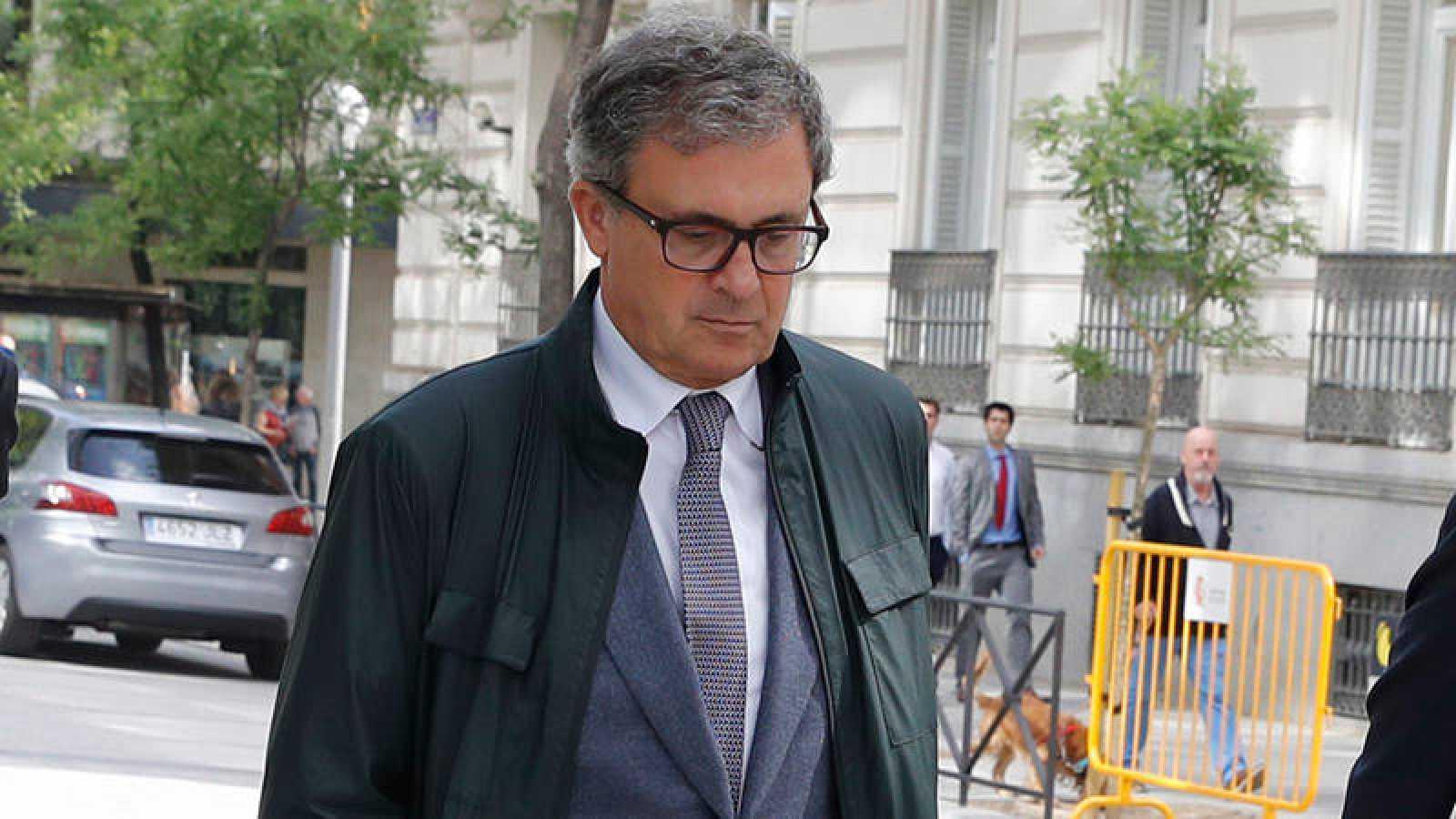 Jordi Pujol Ferrusola, el hijo mayor del expresidente catalán Jordi Pujol