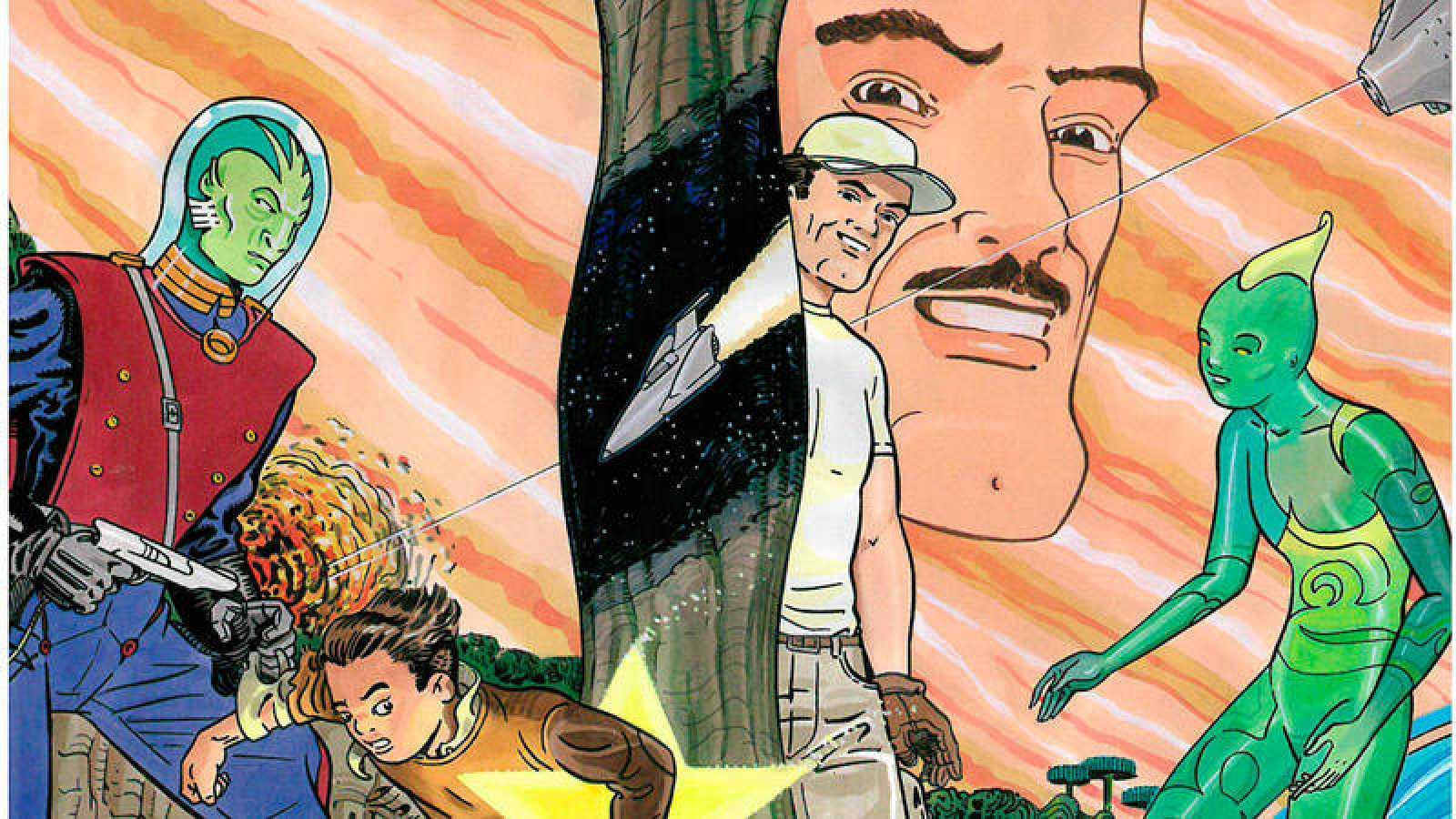 Fragmento de la portada de 'Júpiter'