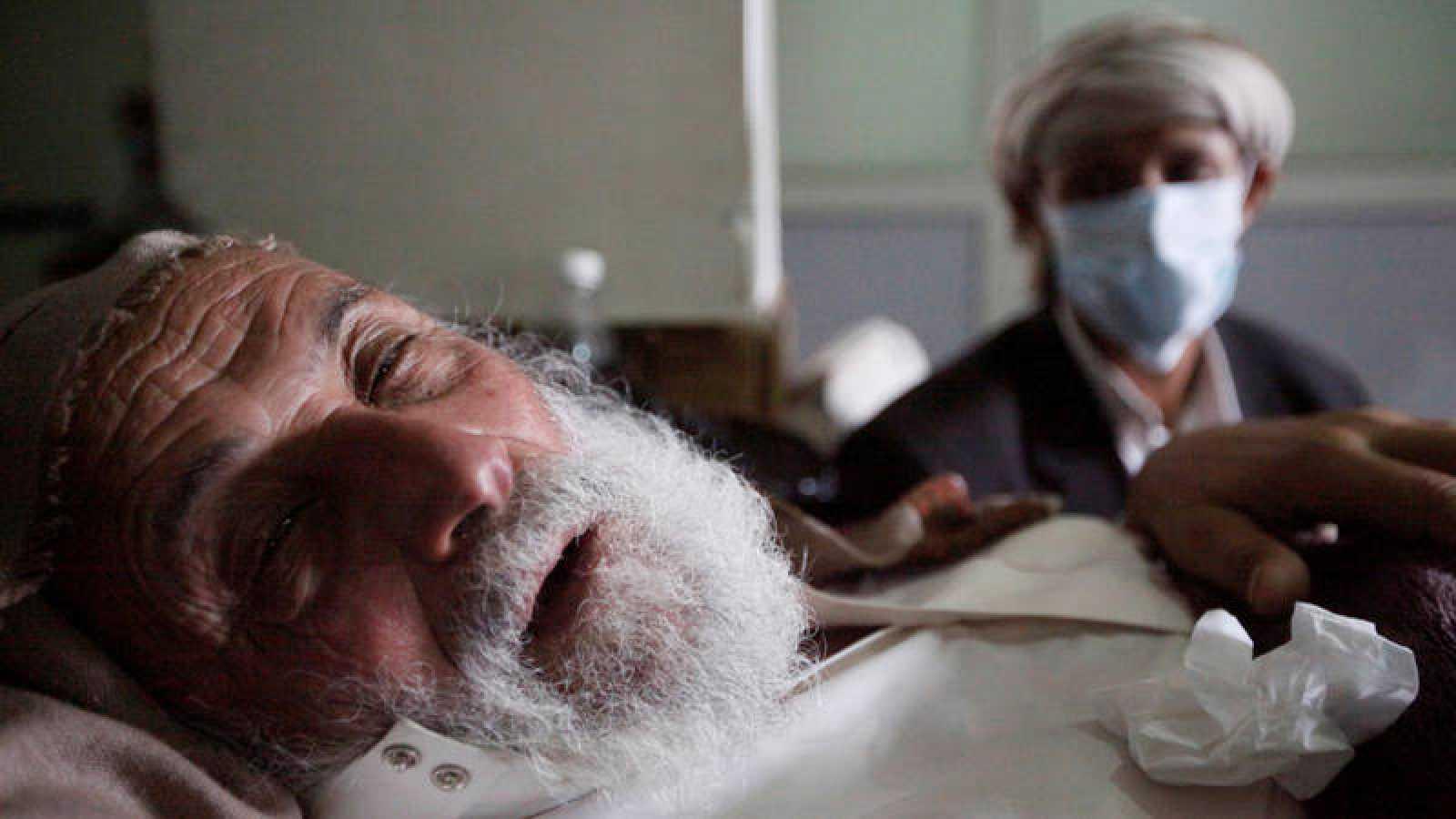 Un hombre infectado con cólera en Sana