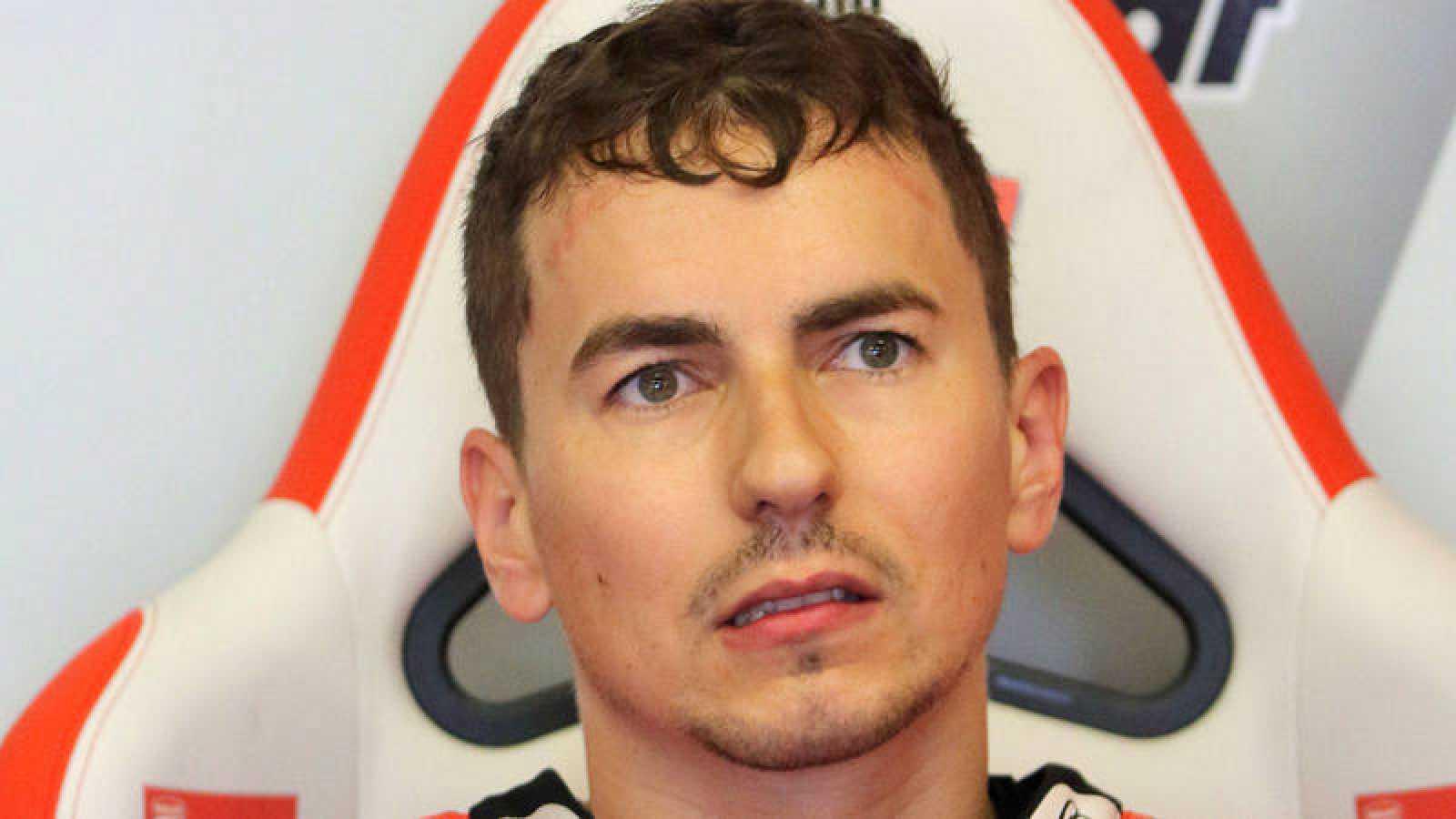 El piloto español de Ducati, Jorge Lorenzo