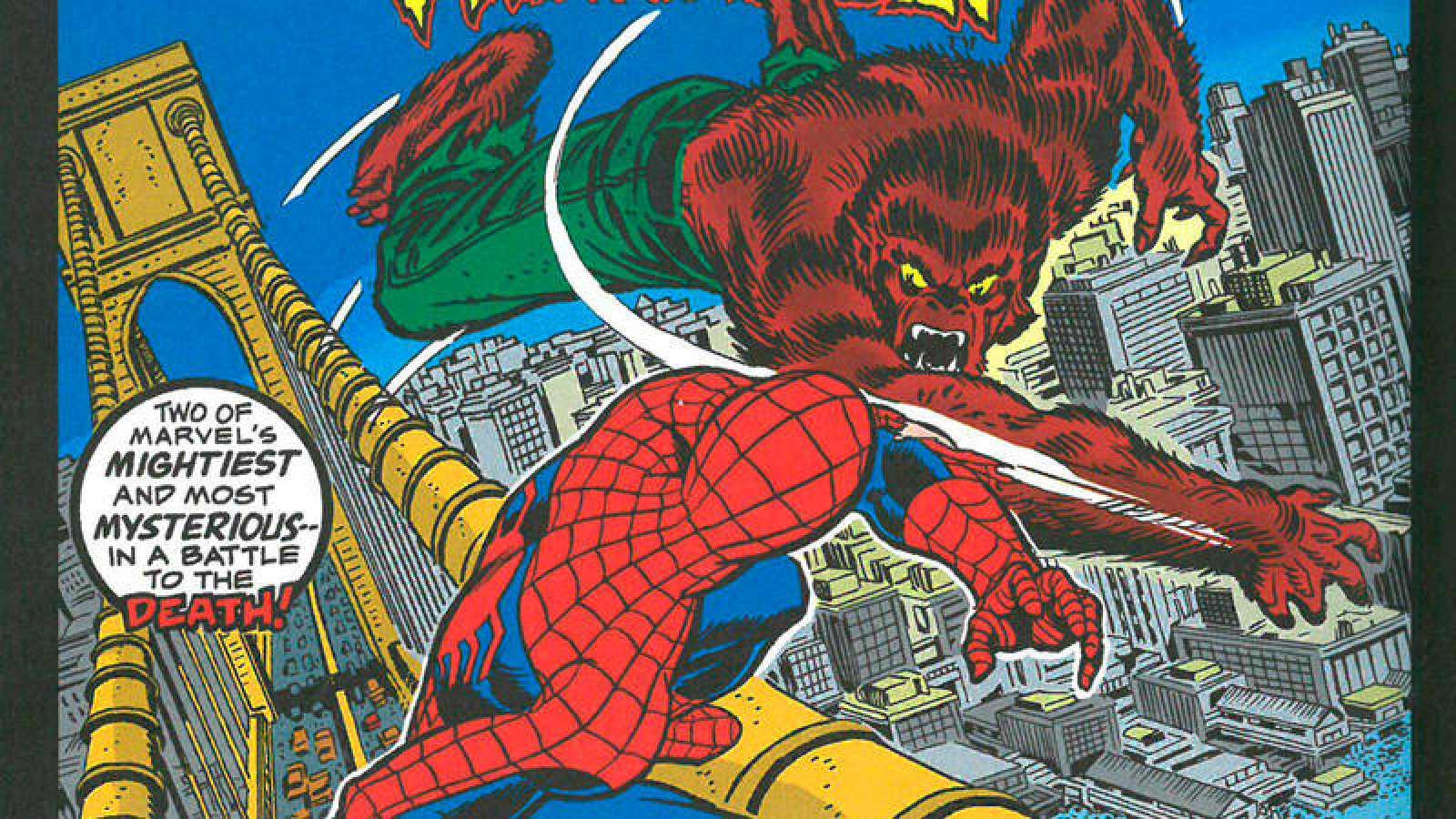 Fragmento de la portada de 'Marvel Team-Up 12'