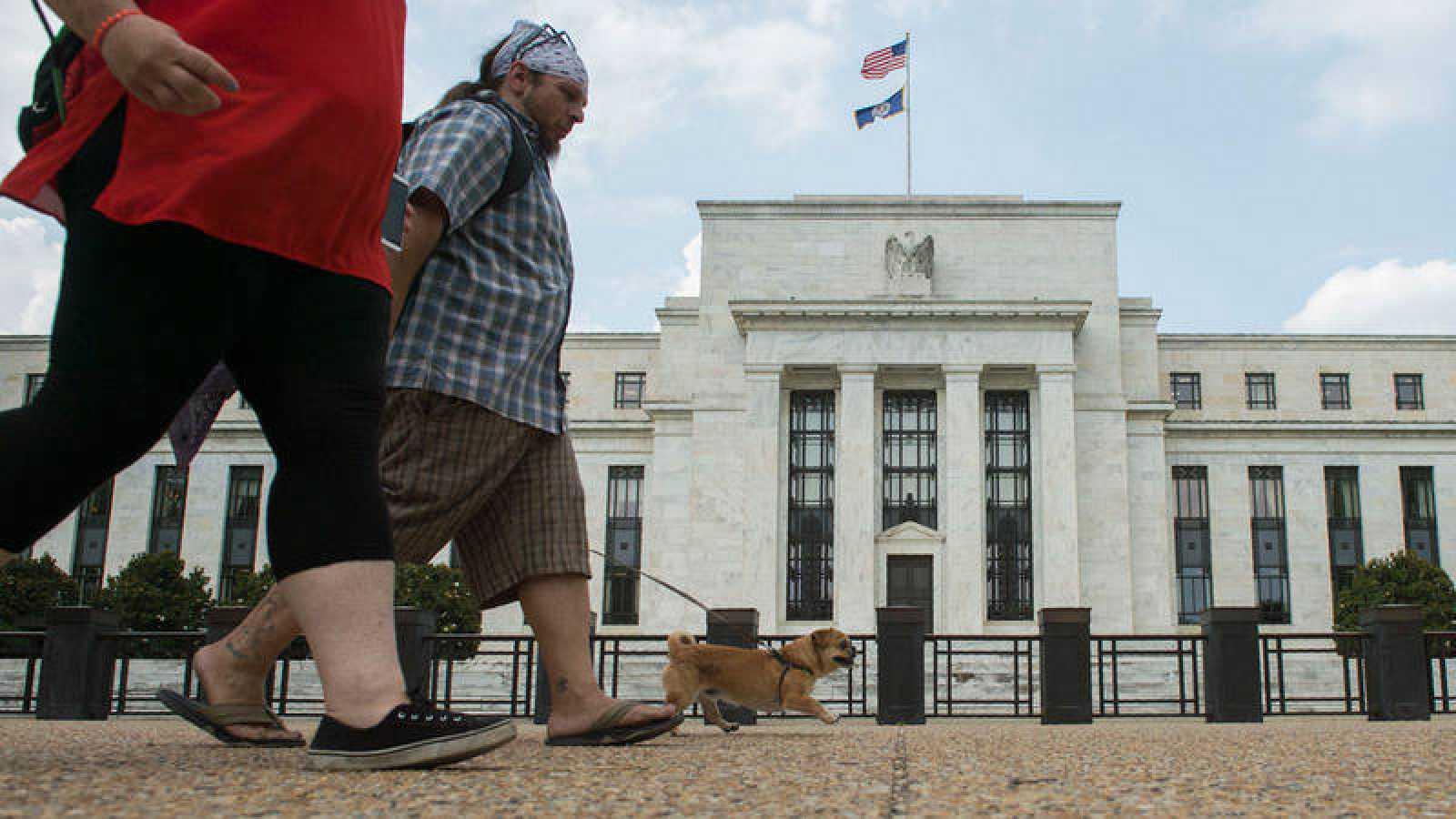 Sede de la Reserva Federal en Washington, Estados Unidos.
