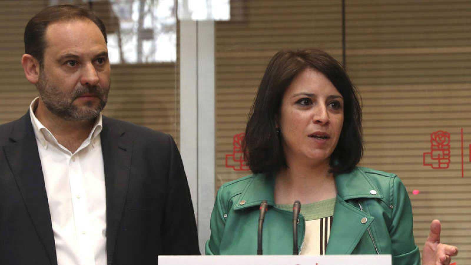 Lastra y Ábalos, propuestas de Sánchez como números dos y tres de la nueva Ejecutiva