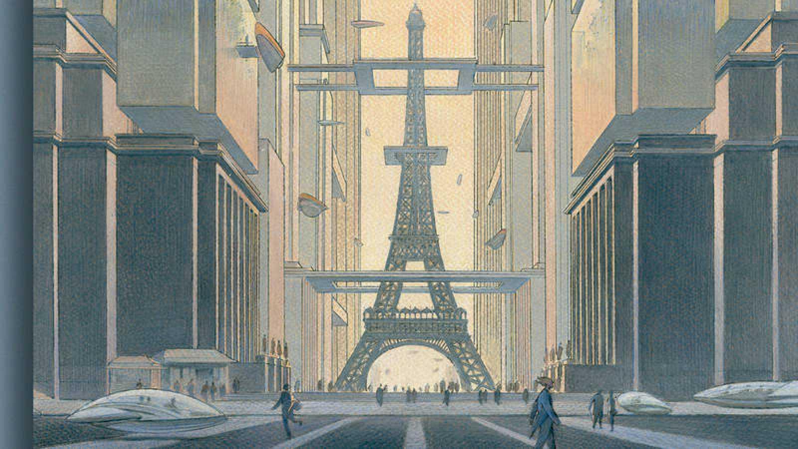 Fragmento del cartel de la exposición de 'Volver a París'