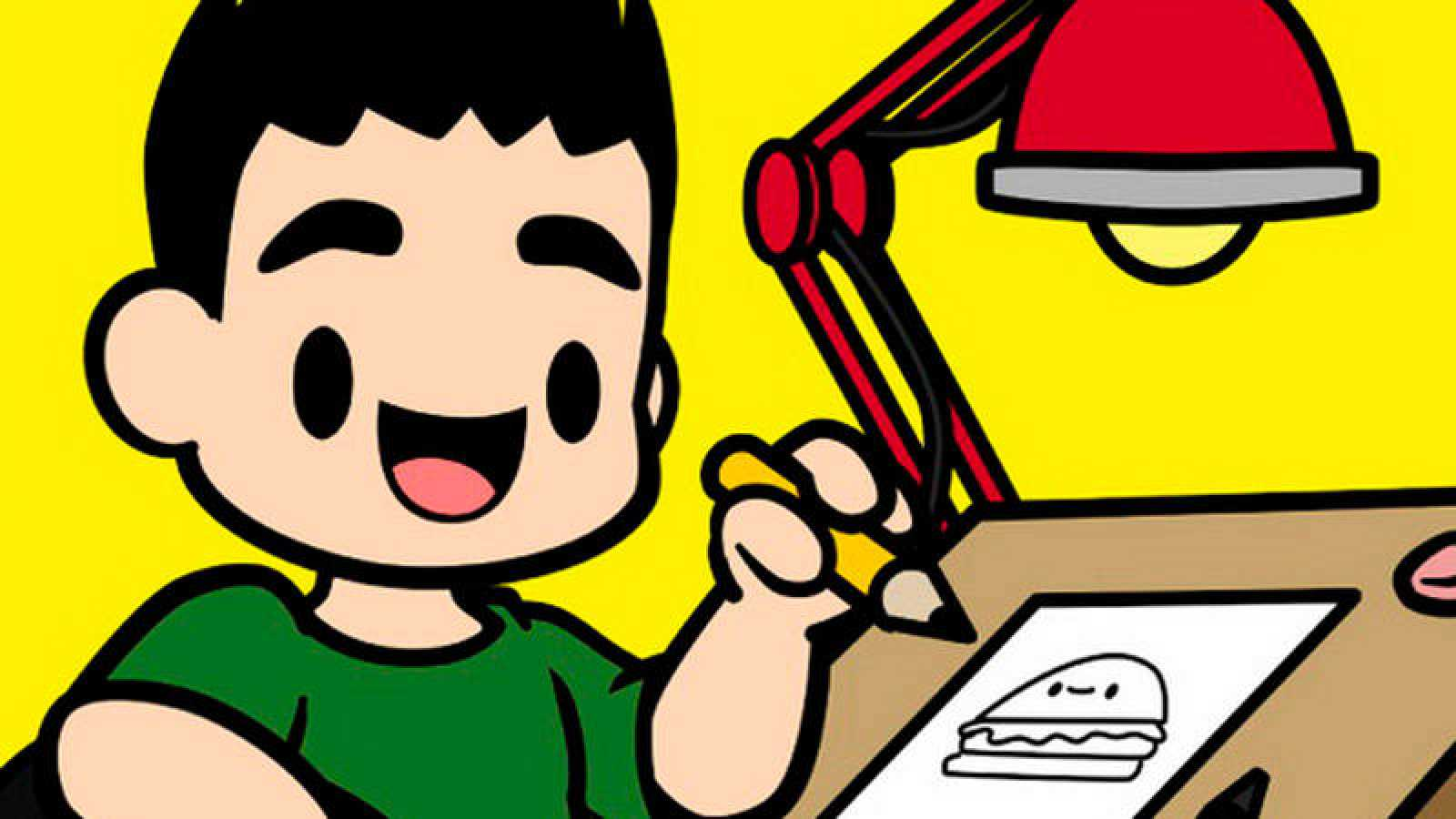 Fragmento de la portada de 'Cómo dibujar kawaii'