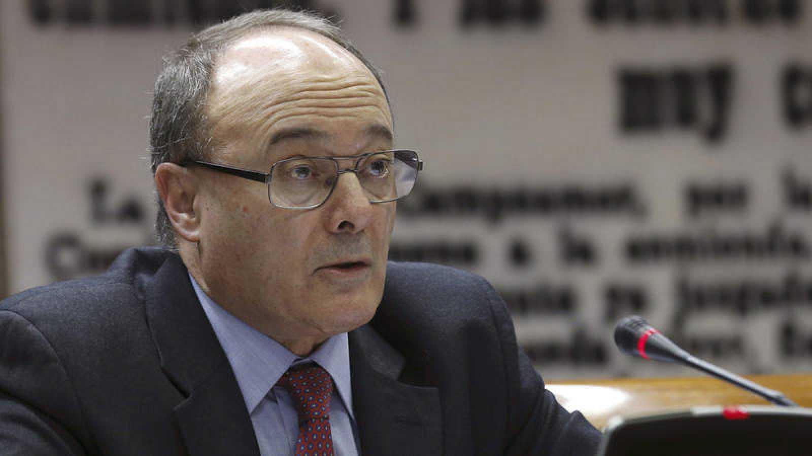 El exgobernador del Banco de España, Luis María Linde, en una imagen de archivo