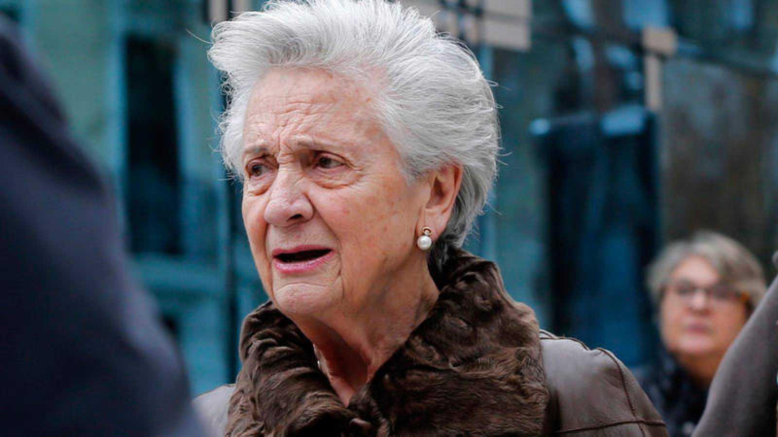 Marta Ferrusola, esposa del expresident de la Generalitat Jordi Pujol