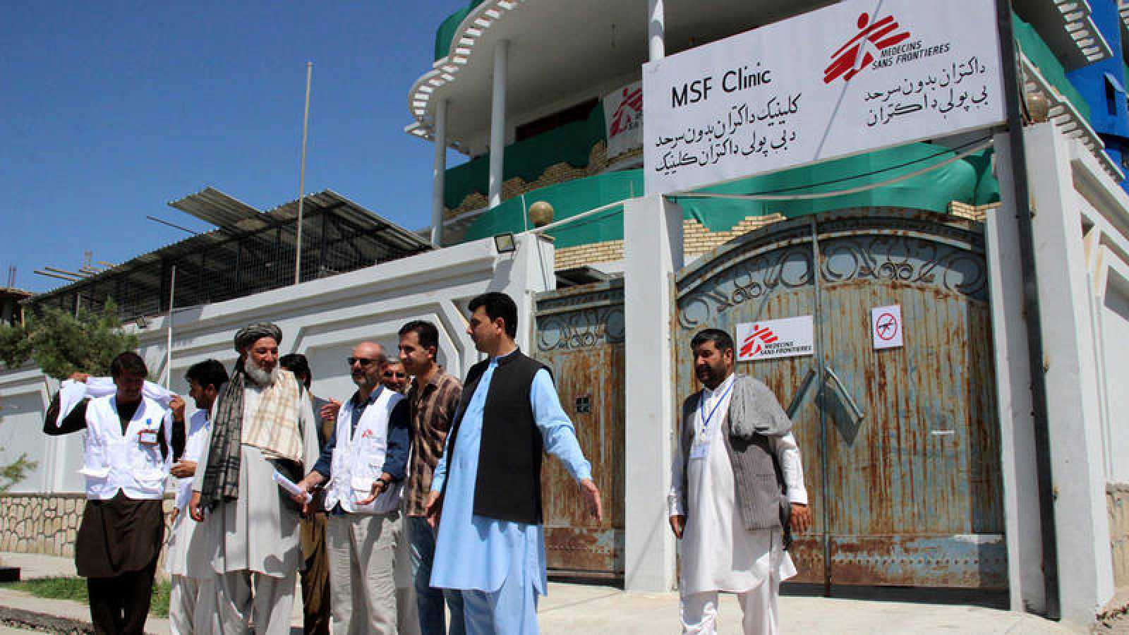 MSF reopened its clinic in Kunduz