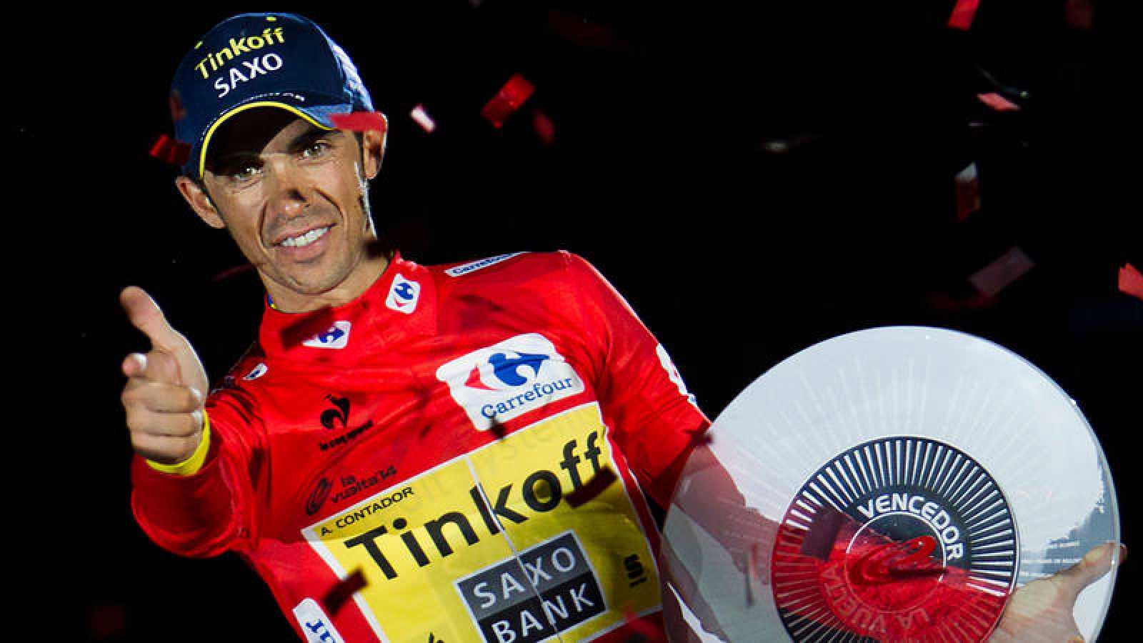 Alberto Contador lucirá el 1 en La Vuelta