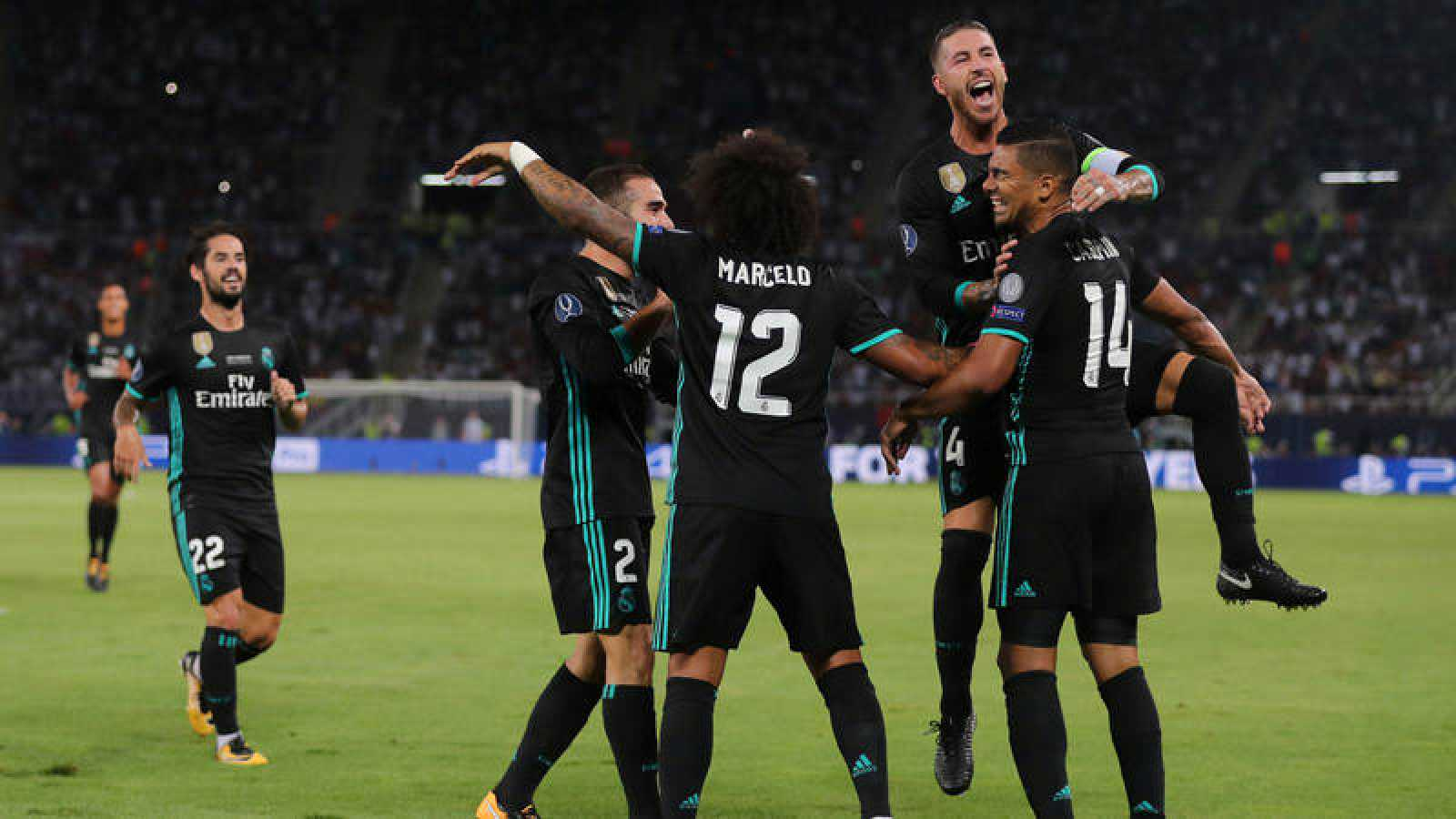 El Madrid gana la Supercopa de Europa