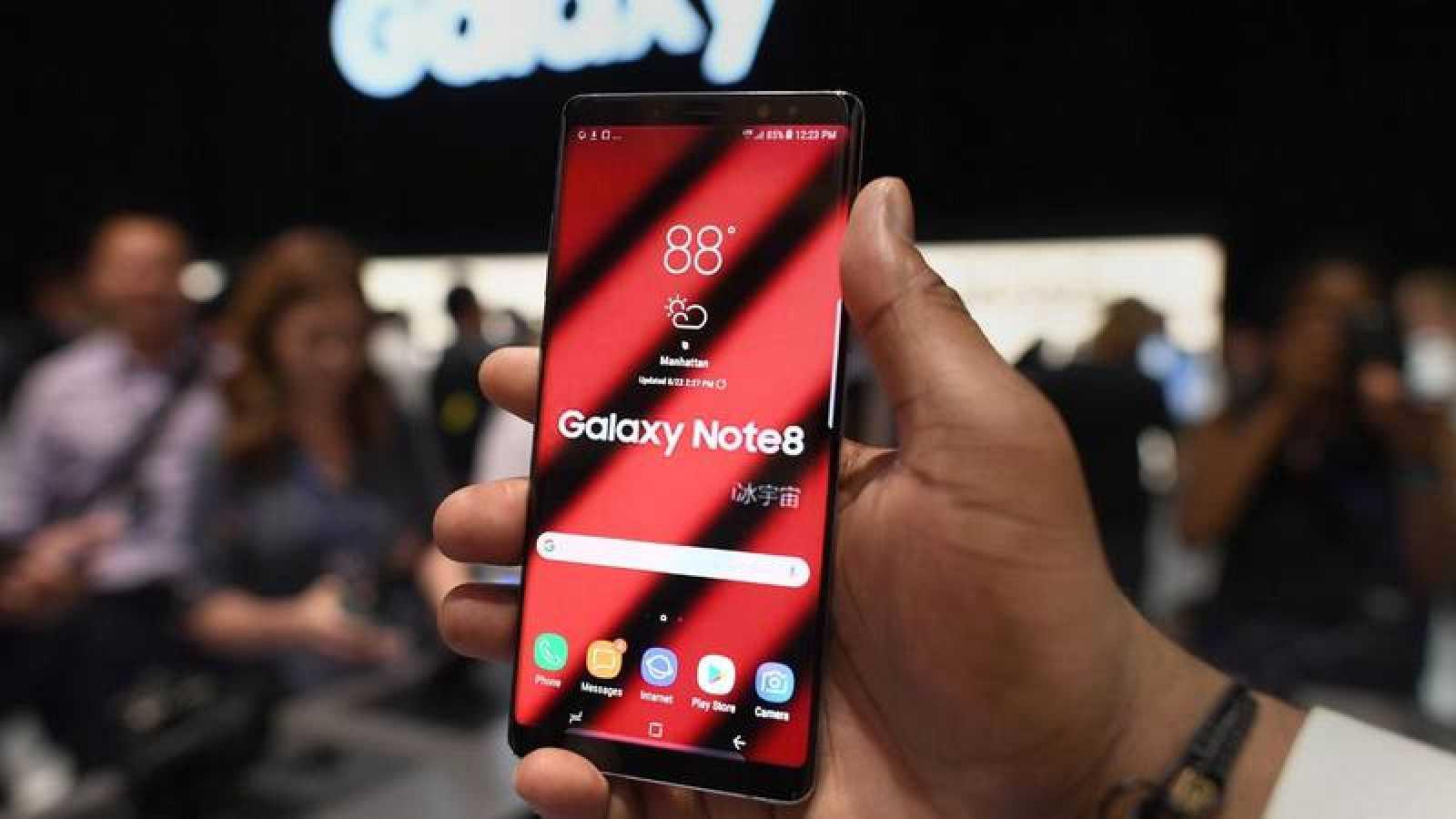 El nuevo Galaxy Note 8 monta un procesador Exynos 8895, con 6GB de RAM.