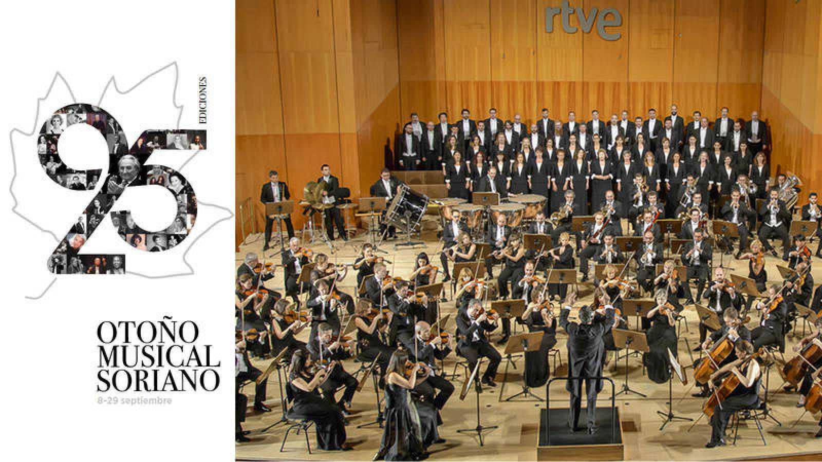 La Orquesta y Coro RTVE en el Otoño Musical Soriano
