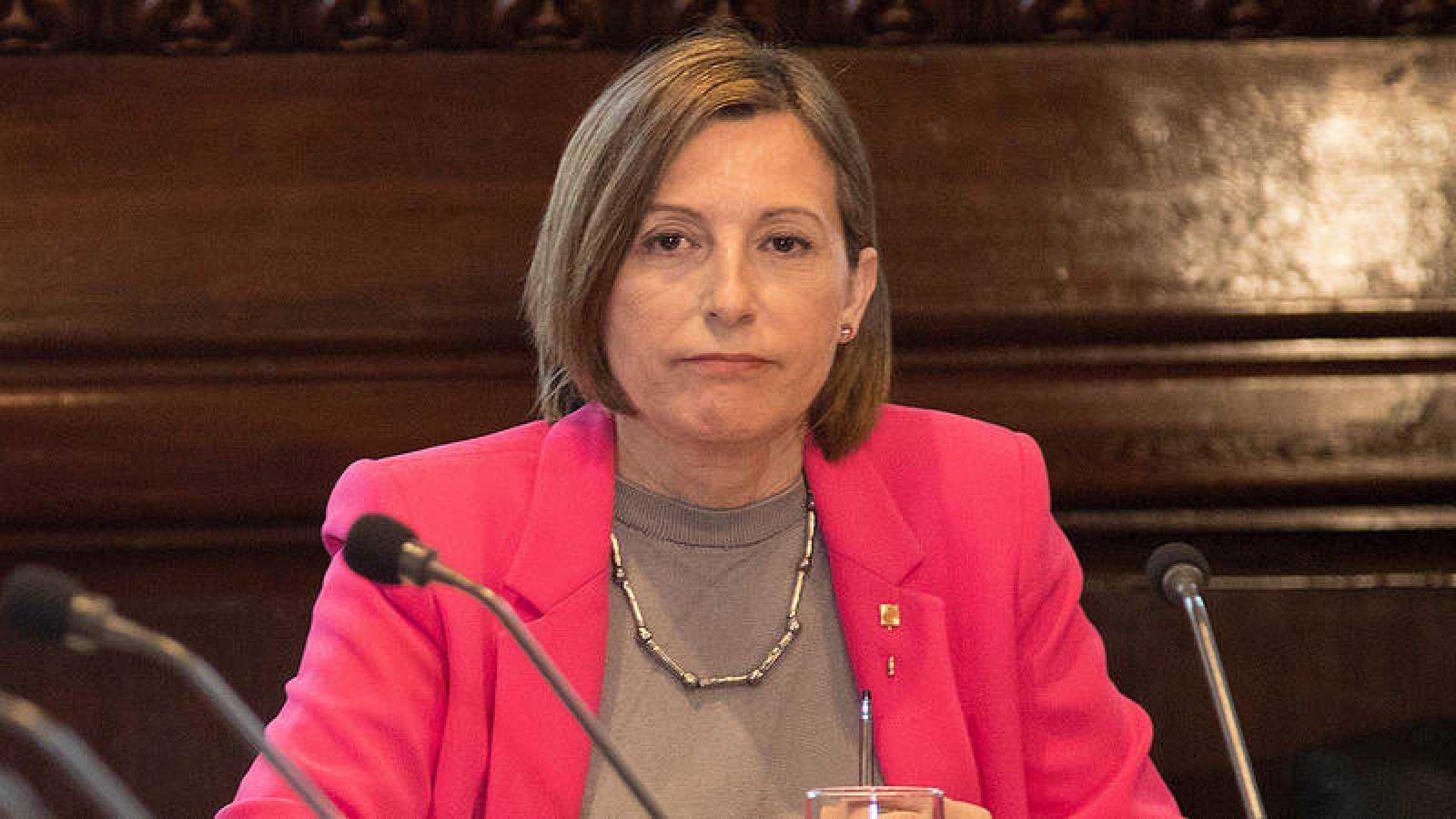 """Forcadell pide recusar a los  doce miembros del TC """"por su falta de imparcialidad"""""""