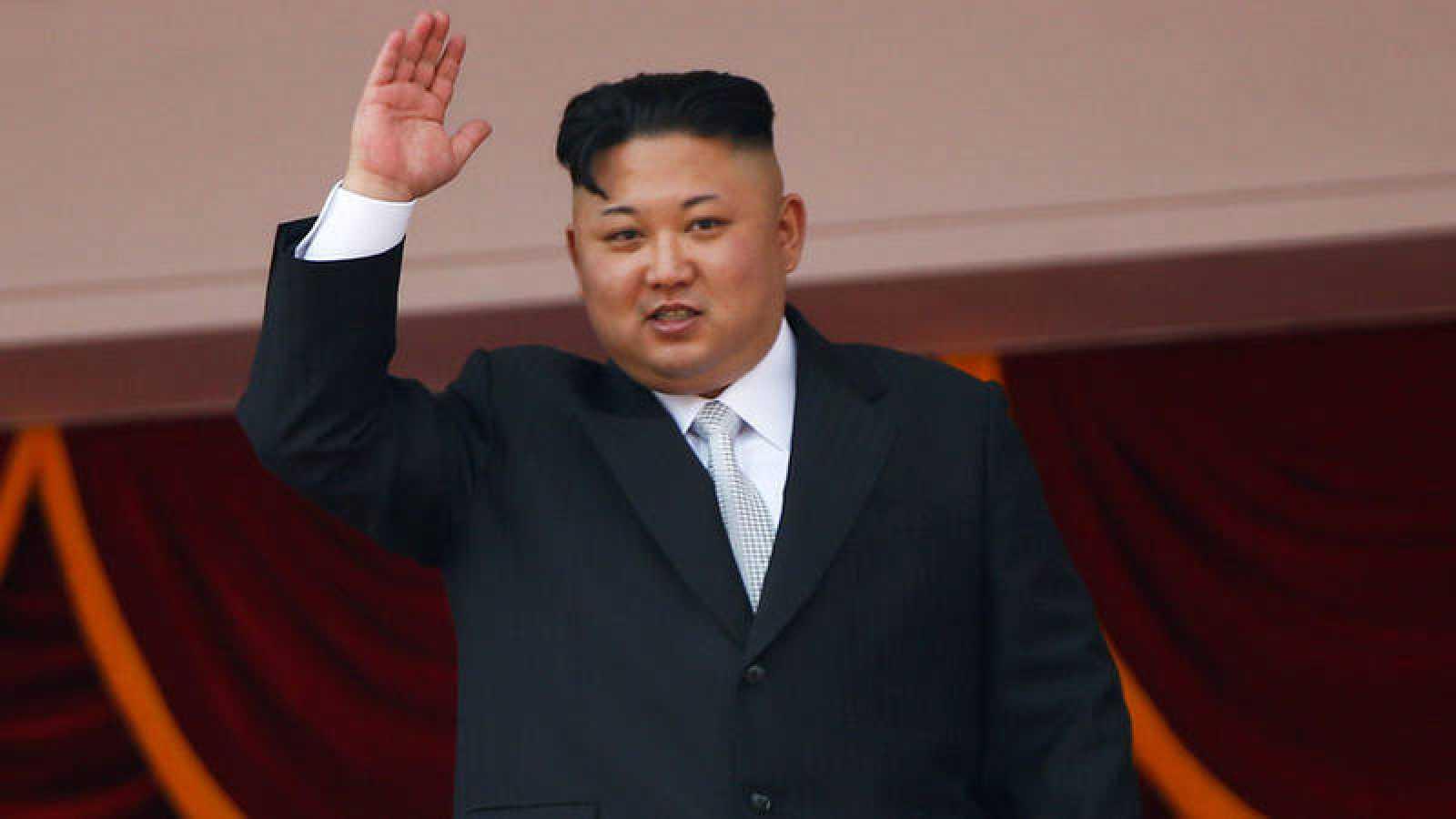 Fotografía de archivo del líder de Corea del Norte, Kim Jong-un