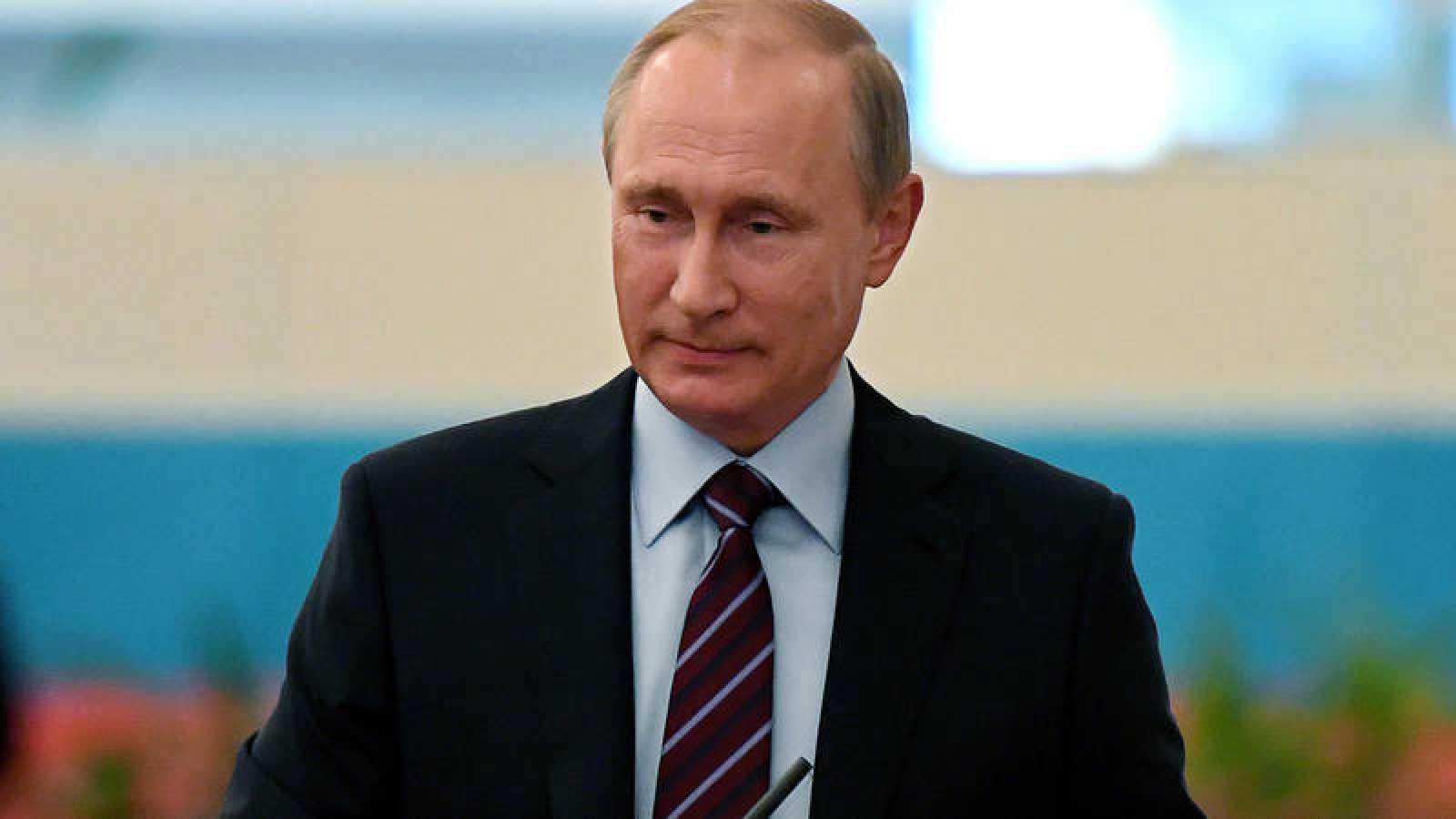 El presidente de Rusia, Vladimir Putin, en imagen de archivo.