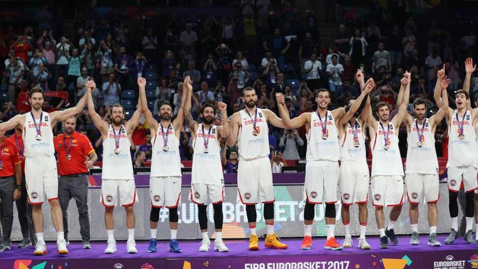 España consigue el bronce en el adiós de Navarro
