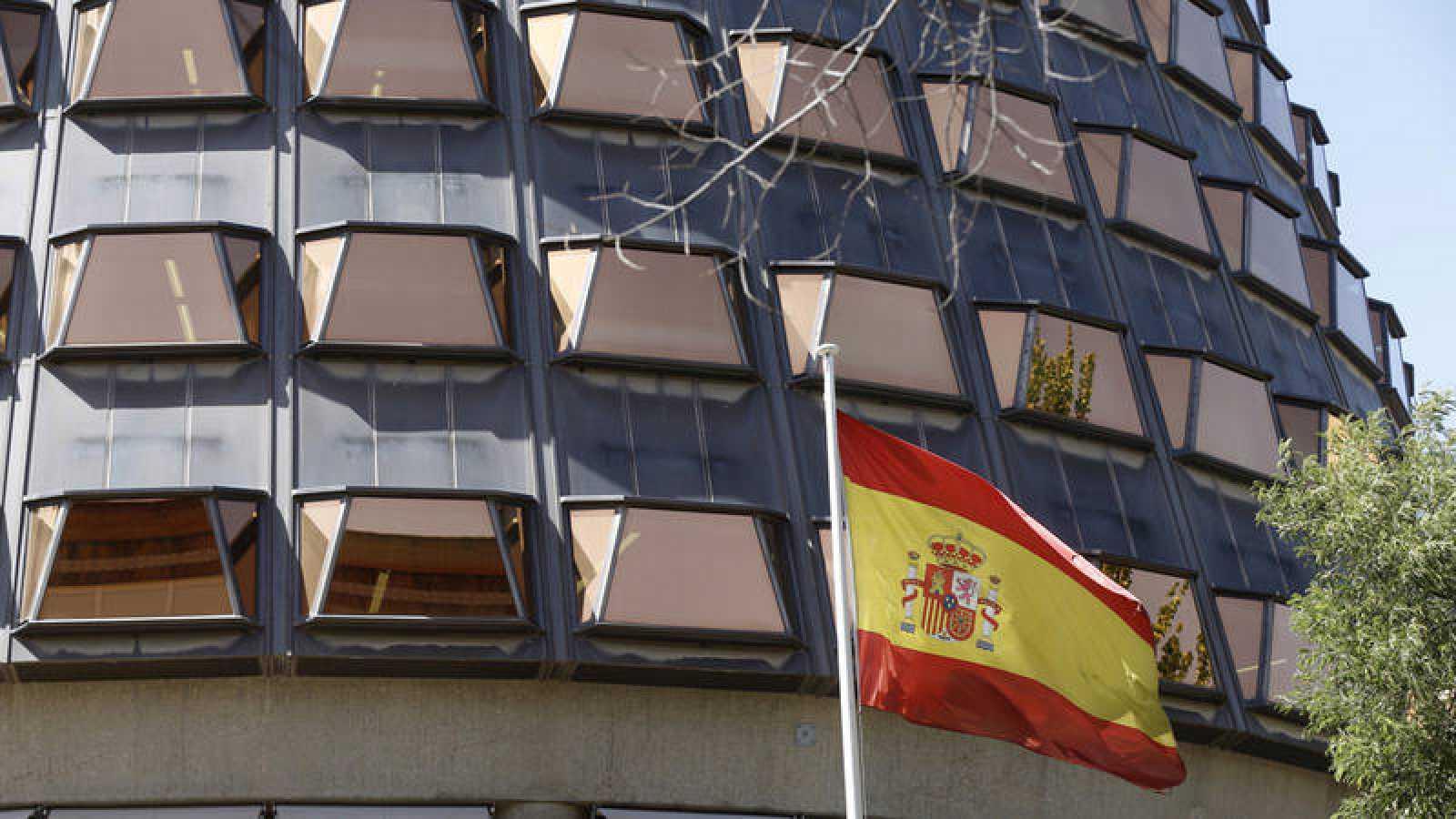 Vista de la sede del Tribunal Constitucional, en Madrid