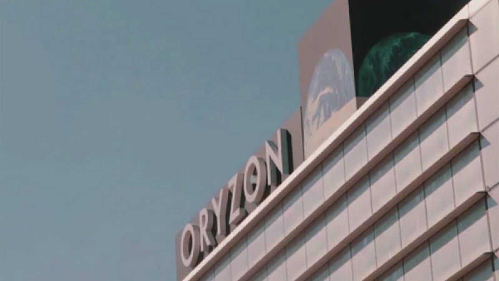 Imagen corporativa de un edificio de la farmacéutica Oryzon Genomics