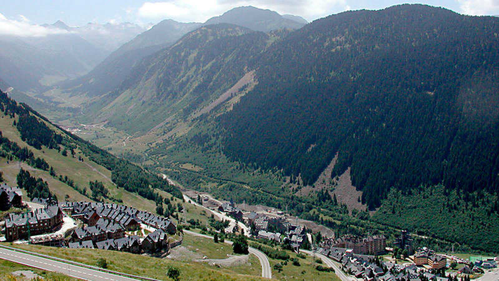 Imagen de archivo del Valle de Arán